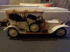 Franklin Mint - Scale 1/24 - Rolls-Royce 1911 Tourer & Cadillac Model 30 touring car 1910