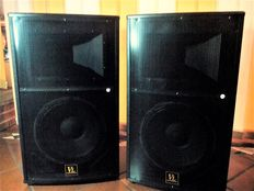 "PAIR OF ""PRO"" SPEAKERS IN KTV FULL-RANGE 12"" - Professional-Passive"