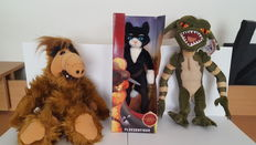 Alf , Gremlins and Puss in Boots plush