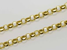 18 kt gold chain ***ROLO***