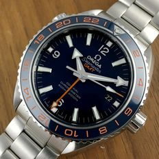 Omega Good Planet GMT Seamaster Coaxial - Men´s Watch - 2015