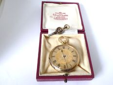swiss pocket watch circa 1890. { ref no 17 }