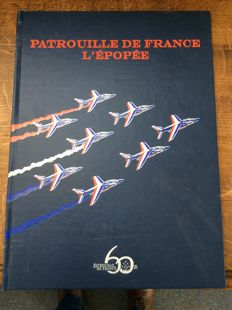 Limited Edition: 300 copies for the 60 years of the Patrouille de France