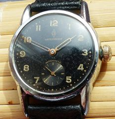 ZENTRA WWII 15Rubies observation watch-- men's wristwatch from the 40s - rare collector's item