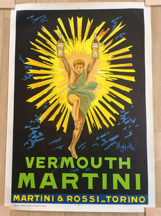 Original Martini Vermouth poster by Leonetto Cappiello - 1950