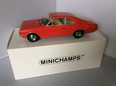 Minichamps - Scale 1/18 - Opel Record C Coupe 1966 - Red