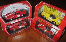 Best Models - Scale 1/43 - Lot with 4 competition Ferrari at Le Mans 1966 and 1968
