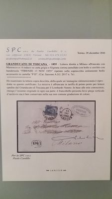Italy – ASI – Tuscany – lot of 10 letters