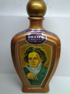 "Vintage Jim Beam Whiskey decanter 1970's ""Ludwig Van Beethoven"""