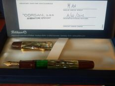 Special edition Pelikan M101N Souverän Tortoiseshell brown - Unused - Original Box with Certificate