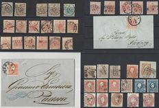 Italian Lombardy & Venice from 1850 small collection