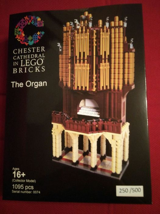 Lego Certified Professional - Chester Cathedral The Organ