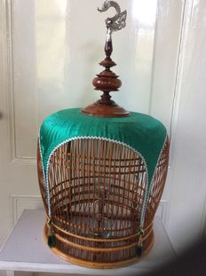 Unusual birdcage from India
