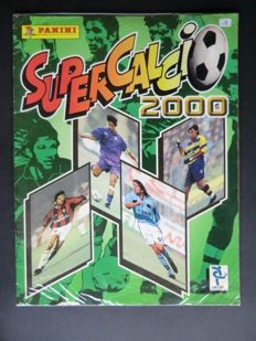 Panini - Super Calcio 2000 - Complete album - Very good condition - Including original order form.