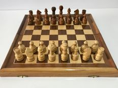 Antique leaded Russian chess
