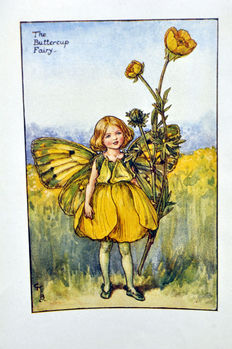 15 prints of Cicely Mary Barker (1895 - 1973) - Flower Fairy Series, ca. 1940