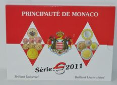 Monaco – year pack 2011, Albert II.