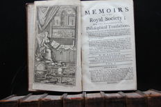 Benjamin Baddam - Memoirs of the Royal Society, Being a New Abridgement of Philosophical Transactions - 10 volumes - 1739 / 1741