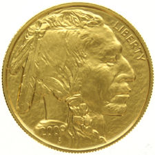 United States of America - 50 Dollars 2009 Buffalo - 1 oz. fine gold
