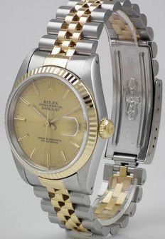 Rolex Datejust, steel/gold | 1989 | Ref. 16233