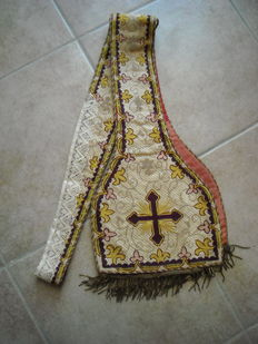Clergy stole, Italy, late 19th century