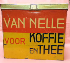 Van Nelle tea and coffee tin - 1930s