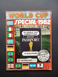 Variant of Panini - Vanderhout/FKS - World Cup Special 1982 - Complete album - Including (rare) country stickers.