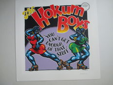 "Crumb, Robert - Sérigraphie Griffioen Grafiek / Oog & Blik - "" The Hokum Boys / you can't get enough of that stuff ""  (2009)"