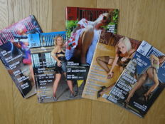 Fetish; 5 German fetish magazines - 2004/2010