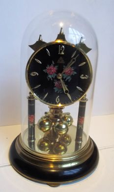 DAM S.HALLER clock - Made in Germany - Period: 1960