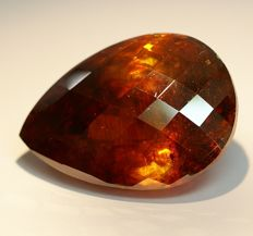 Sphalerite,orange  -  80,56 ct