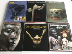 6 books on African art