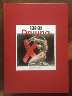Serpieri Druuna Portfolio X - Red casing 8 Ex-Libris - C - limited edition (2001)