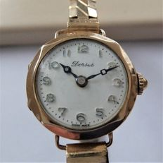Dorbet swiss Made Antique 1920's - 375 Solid Yellow Gold