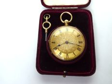 J. Taylor & son, Dunning, Swiss pocket watch made 1875