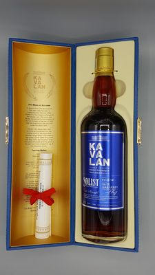Kavalan Solist Vinho Barrique single cask single malt whisky - 54.8%