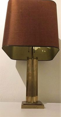 Unknown designer – Belgochrom brass table lamp