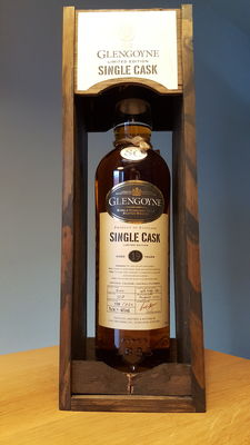 Glengoyne 1987 rare single cask 19 years old - limited editon / only 720 bottles worldwide - single malt Scotch whisky