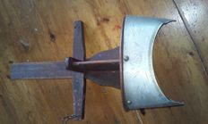 """Stereoscope with photo """"S"""