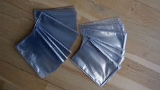 Lot of 2000 protective sleeves (new) PVC for old small size postcards - acid free