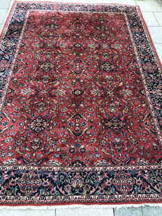 Wonderful, Persian, Herati carpet, 199 x 281.