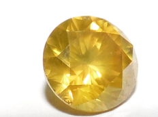 1.61 ct Fancy Golden Yellow Diamond - Si2