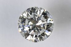 0.24 ct Brilliant-cut diamond - E/VVS1