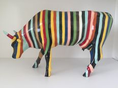 Cow Parade - Striped - Large