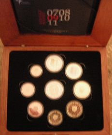 The Netherlands – Year pack Euro coins 2009, including 2 Euro 'EMU'