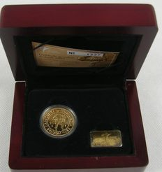 The Netherlands – Double ducat 2005 Beatrix, gold