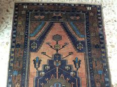 Hand-knotted Turkish carpet