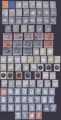 The Netherlands 1870/1958 - Complete collection of postage due - NVPH P1 up to P106
