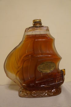 Prunier Cognac Galleon Extra, Bottled 1970s