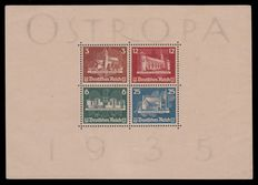 German Empire 1935 - OSTROPA - Michel block 3